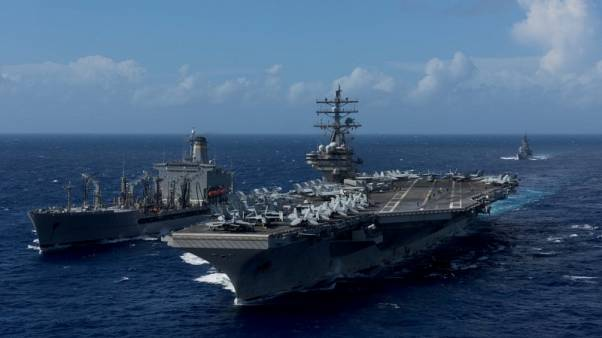 U.S., South Korea conduct joint Navy drills to counter North Korea threat