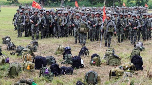 Philippine army says unconfirmed reports two key rebel leaders dead