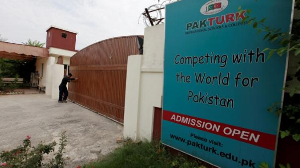 Pakistan deports Turkish school network's former director and family
