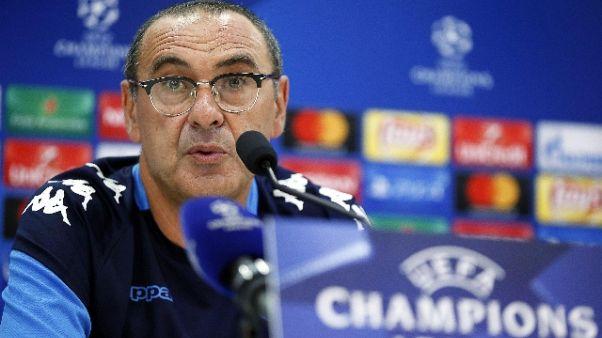 Sarri, City squadra più forte d'Europa
