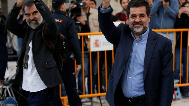 Spanish High Court remands in custody two Catalan separatist leaders