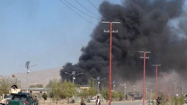 Suicide bomber, gunmen attack police headquarters in Afghan province - officials