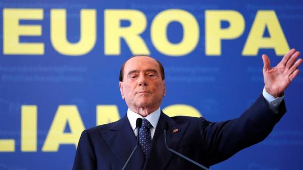 Italy's Berlusconi says centre-right agrees pact on next PM candidate