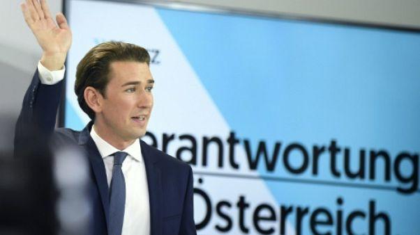Autriche: le vainqueur des législatives exige un engagement contre l'antisémitisme