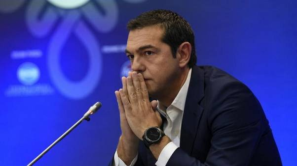 Greece, confounding creditors, fell in recession again last year