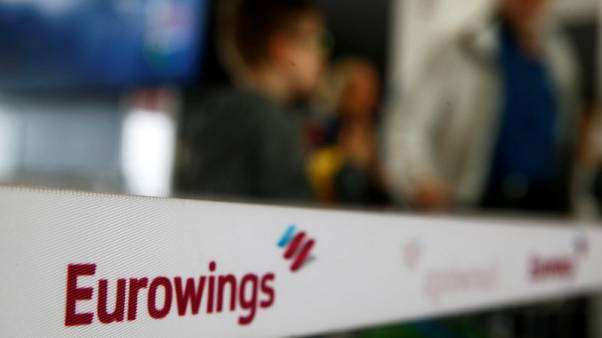 Air Berlin deal to lift Eurowings sales above 5 billion euros in 2018