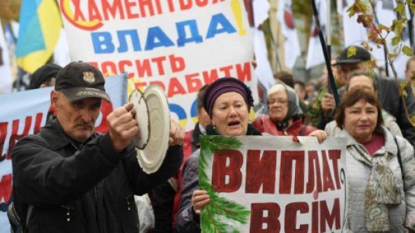 Ukraine: des milliers de manifestants demandent une cour anticorruption