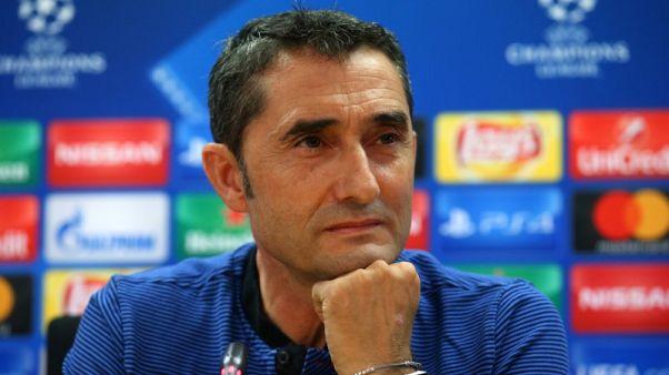 Barca boss Valverde still revered in mad house of Olympiakos