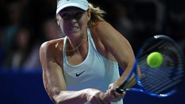 Tennis: Sharapova éliminée d'entrée à Moscou