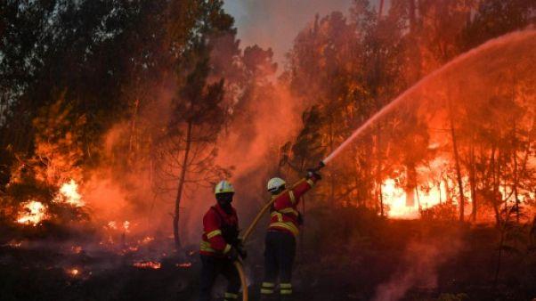41 morts dans les incendies au Portugal depuis dimanche
