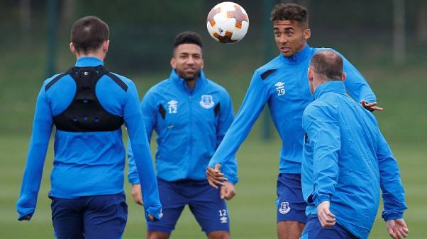 Everton forward Calvert-Lewin eager to improve scoring form