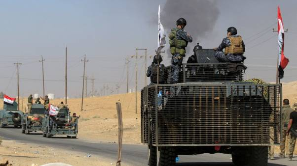 Iraqi forces take control of Kurdish-held areas in Mosul's Niveveh's province
