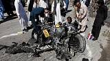 Pakistan blast aimed at security forces kills at least six