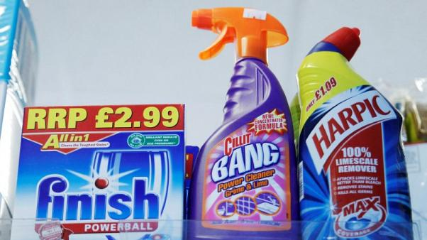 Reckitt cuts full-year outlook after third quarter sales fall