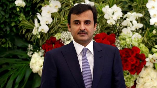 Qatar emir says open to dialogue to resolve Gulf crisis