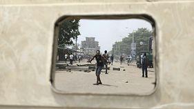 Heurts entre forces de l'ordre togolaises et manifestants à Lomé, le 18 octobre 2017