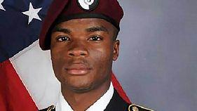 Le sergent américain La David T. Johnson, tombé dans une embuscade au Niger