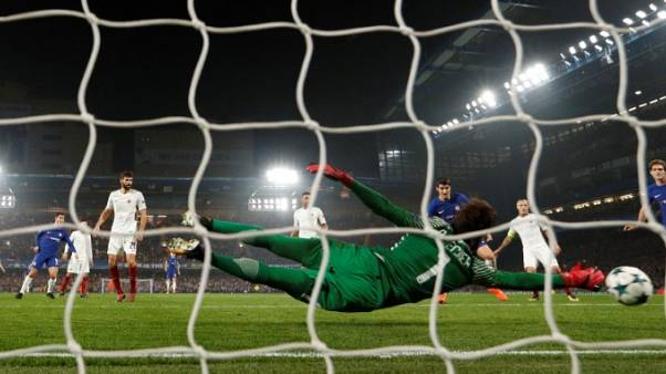 Chelsea and Roma share spoils in six-goal thriller