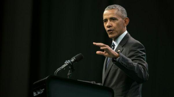Barack Obama de retour dans l'arène politique