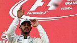 F1: c'est (déjà) l'Amérique pour Hamilton!