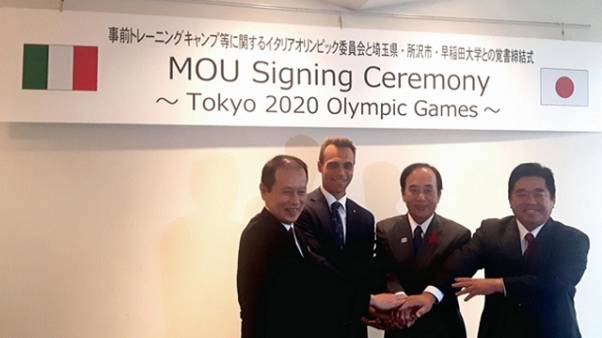 Italia Team: Tokyo20, accordo su campus