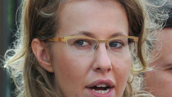 Russie: la candidature d'une vedette de télévision ranime la présidentielle