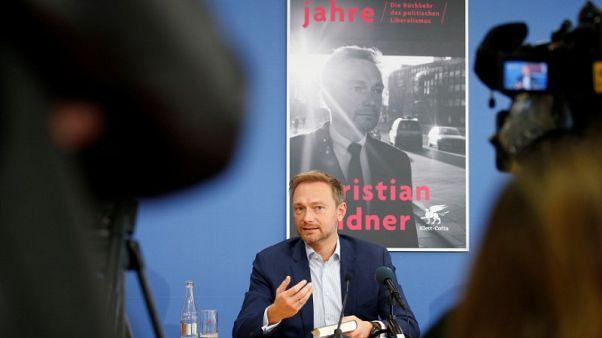 Head of Germany's FDP offers Macron 'bittersweet' euro zone deal