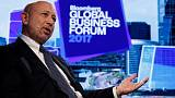 Goldman CEO says planning to spend a lot more time in Frankfurt