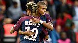 PSG: Neymar se voit en mentor de Mbappé, comme Messi avec lui