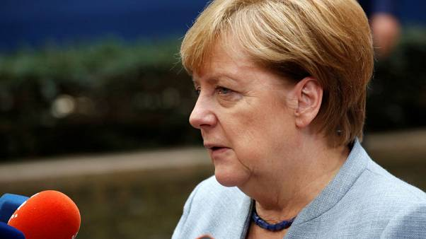 Merkel presses allies to cut funds for Turkey's EU bid