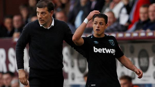 West Ham's Bilic expects Hernandez to be fit for Brighton