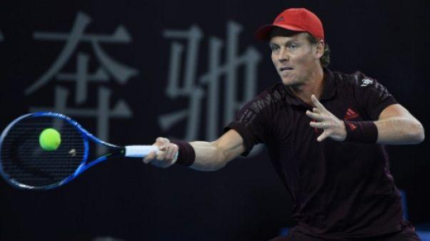 Tennis: Tomas Berdych, souffrant du dos, met un terme à sa saison