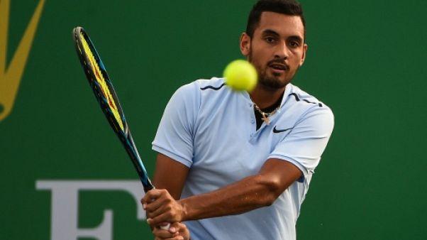 Tennis: Kyrgios, blessé à une hanche, met un terme à sa saison