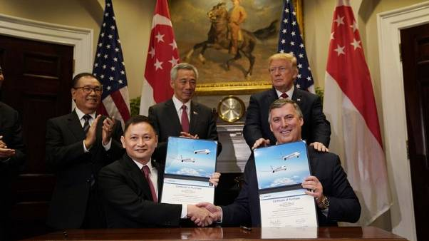 Singapore Airlines to finalise $13.8 billion Boeing order next week