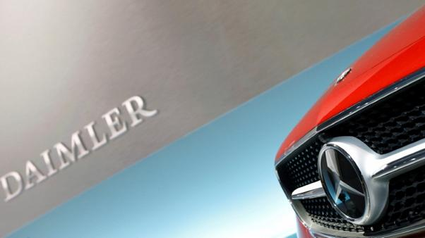 Daimler third-quarter profit falls on diesel costs, special items