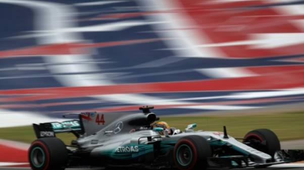 GP des Etats-Unis: Hamilton le plus rapide de la première séance d'essais libres