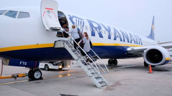 Ryanair says pilots at London Stansted reject pay offer