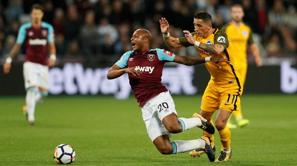 Brighton stun West Ham with 3-0 away victory