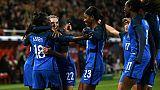 Amical: les Bleues arrachent la victoire face à l'Angleterre