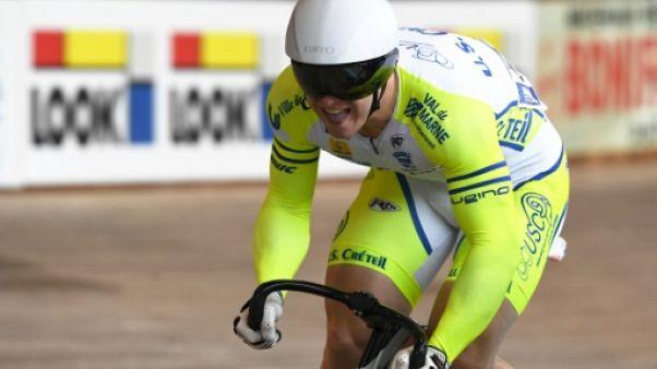 Cyclisme sur piste: Vigier en or sur le sprint des Championnats d'Europe