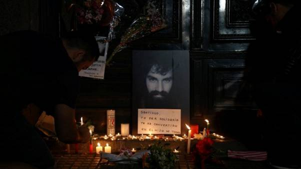Brother identifies body of missing Argentine protester