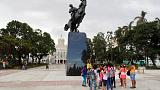 Cuba unveils Jose Marti statue, a gift from Trump's hometown