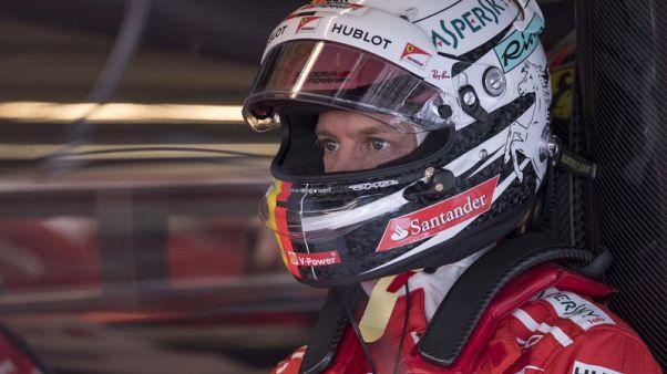 Motor racing - Ferrari replace Vettel's chassis