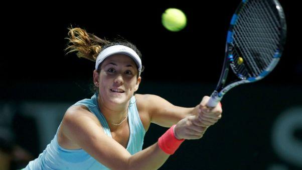 Tennis - Refreshed Muguruza braced for big hitters in Singapore