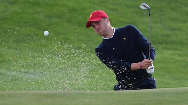 Golf - Thomas battles back in Korea, shares lead with Brown