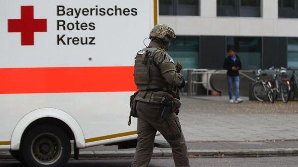 Knife-wielding man injures several people in German city