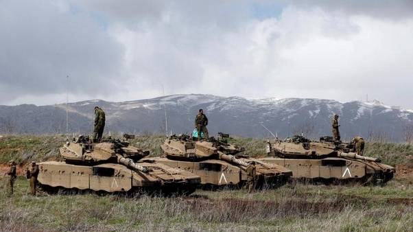 Israel says will intensify response to Syrian fire