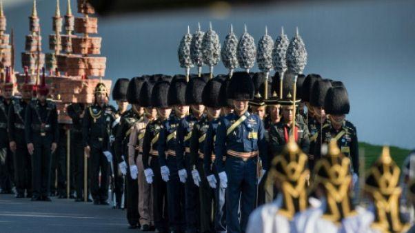 Thaïlande: répétition générale pour la crémation du roi