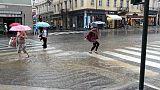 Pioggia e vento,codice giallo in Toscana