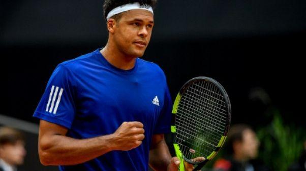 Tennis: Tsonga en passe de réussir son pari à Anvers